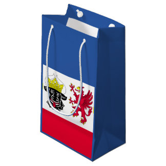 Flag of Mecklenburg-Western Pomerania Small Gift Bag