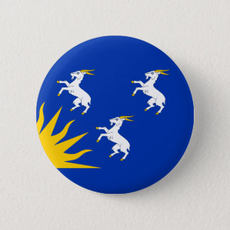 Flag of Merionethshire 2 Inch Round Button