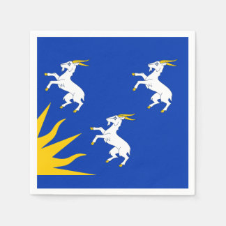 Flag of Merionethshire Paper Napkin