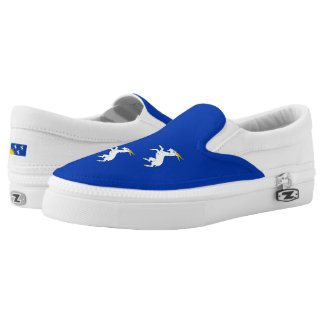 Flag of Merionethshire Slip-On Sneakers