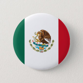 Flag of Mexico 2 Inch Round Button
