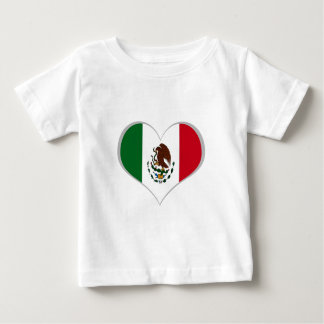 Flag of Mexico Baby T-Shirt