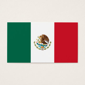 Flag of Mexico Business Cards