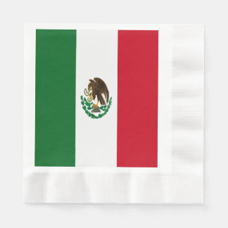 Flag of Mexico Disposable Napkin