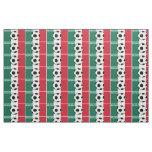Flag of Mexico Football Fabric