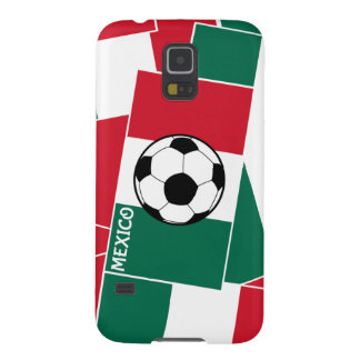 Flag of Mexico Football Galaxy S5 Cases