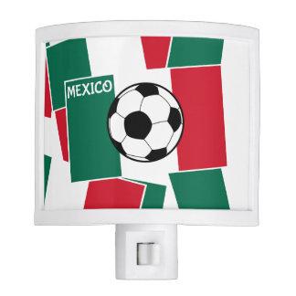 Flag of Mexico Football Nite Lights