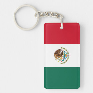 Flag of Mexico Keychain
