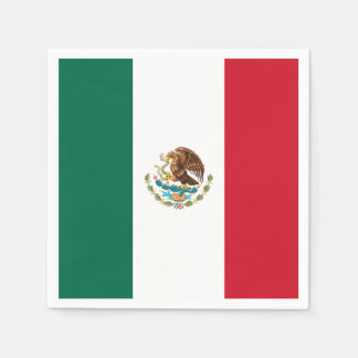 Flag of Mexico Paper Napkins