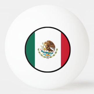 Flag of Mexico Ping Pong Ball