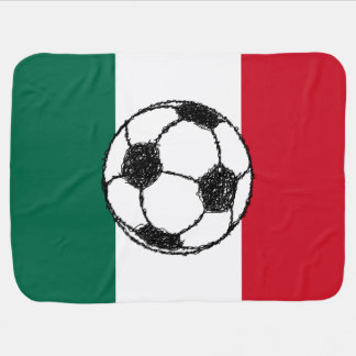 Flag of Mexico | Soccer ball Receiving Blanket