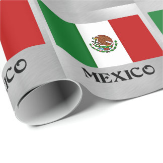 Flag of Mexico Wrapping Paper