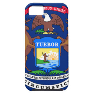 Flag Of Michigan iPhone 5 Cover