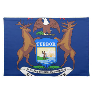 Flag Of Michigan Placemat