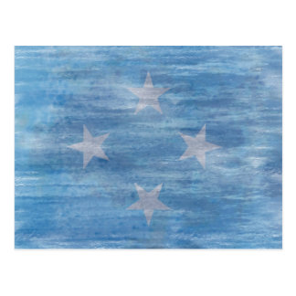 Flag of Micronesia - Micronesian Flag Postcard