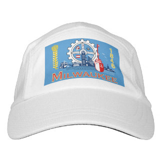 Flag of Milwaukee, Wisconsin Hat