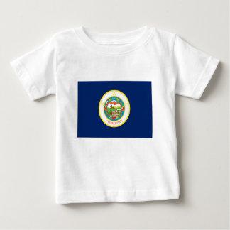 Flag Of Minnesota Baby T-Shirt