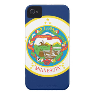 Flag Of Minnesota iPhone 4 Covers