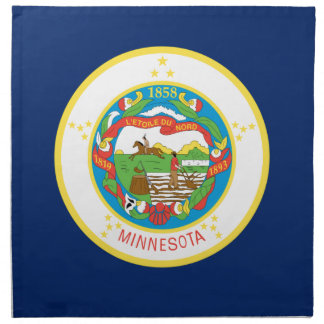 Flag Of Minnesota Napkin