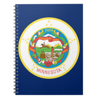 Flag Of Minnesota Notebook