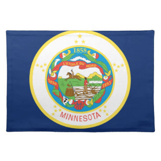 Flag Of Minnesota Placemat