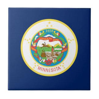 Flag Of Minnesota Tile