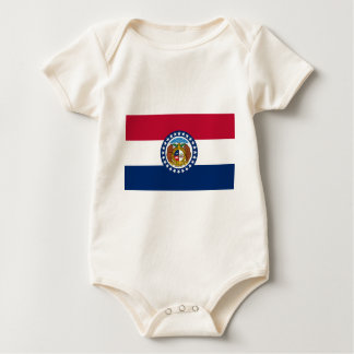 Flag Of Missouri Baby Bodysuit