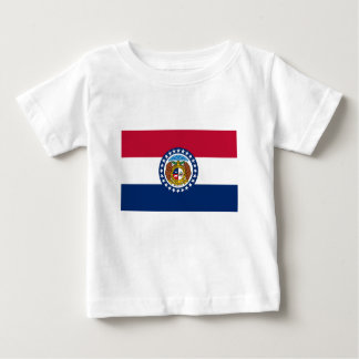 Flag Of Missouri Baby T-Shirt