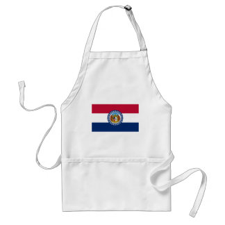 Flag Of Missouri Standard Apron