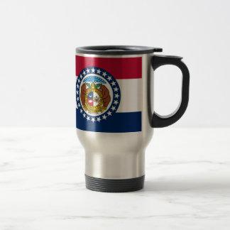 Flag Of Missouri Travel Mug