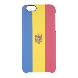 Flag of Moldova Clear iPhone Case