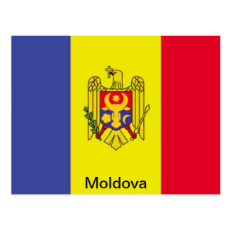 Flag of Moldova Postcard