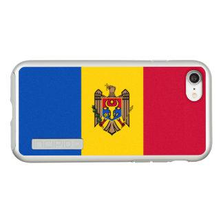 Flag of Moldova Silver iPhone Case