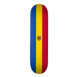 Flag of Moldova Skateboard Deck