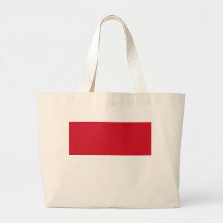 Flag_of_Monaco Large Tote Bag