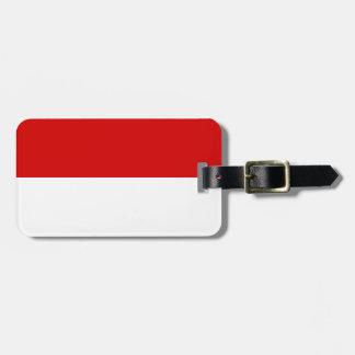 Flag of Monaco Luggage Tag
