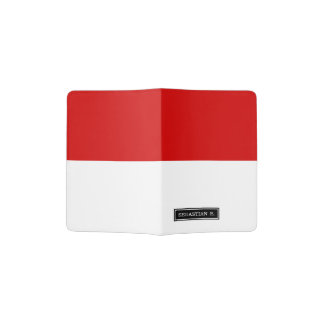 Flag of Monaco Passport Holder