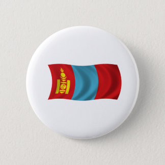 Flag of Mongolia 2 Inch Round Button