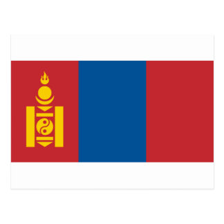 Flag_of_Mongolia Postcard
