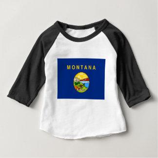 Flag Of Montana Baby T-Shirt