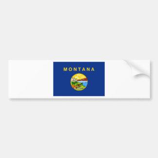 Flag Of Montana Bumper Sticker