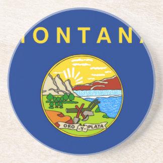 Flag Of Montana Coaster