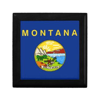 Flag Of Montana Gift Box