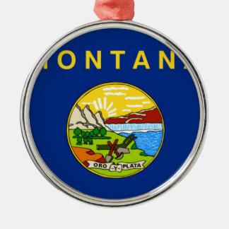 Flag Of Montana Metal Ornament