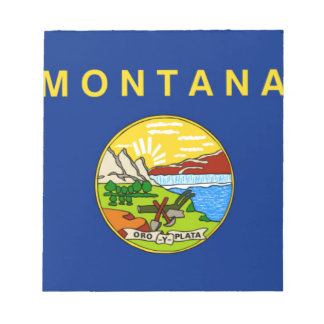 Flag Of Montana Notepad