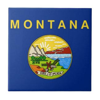 Flag Of Montana Tile