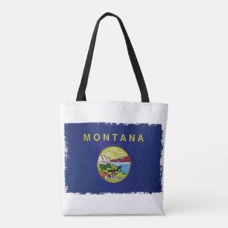 Flag of Montana Tote Bag