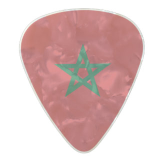 Flag of Morocco Guitar Picks