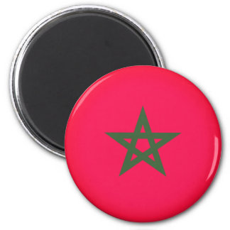Flag of Morocco Magnet