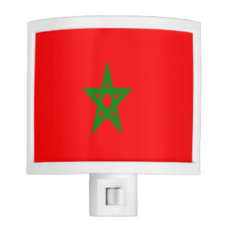 Flag of Morocco Night Lites